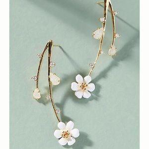 Cascading Flowers Drop Earrings
